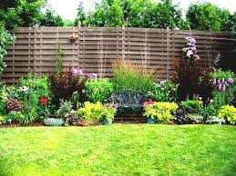 simple garden design ideas small gardens with chic appearance for