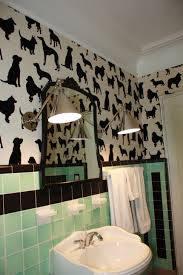 Wallpaper Ideas For Bathroom Cant Beat It Join It Pink Bathroom Solution Ideas For Our