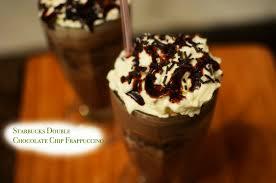 starbucks double chocolate chip frappucino recipe frozen coffee