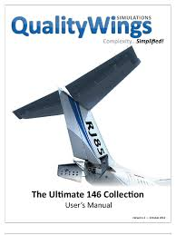 qualitywings ultimate 146 collection users manual aileron