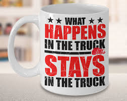 Gifts For Truckers Trucker Coffee Mug Etsy