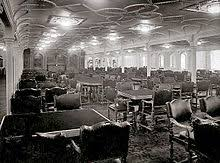 titanic first class dining room first class facilities of the rms titanic wikipedia