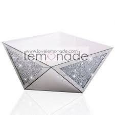 Crystal Coffee Table by Crushed Diamonds Triangle Coffee Table From Lemonade Uk