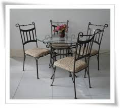 Wrought Iron Dining Room Chairs Wrought Iron Dining Sets