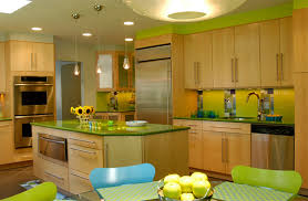 green kitchen island green kitchen interiors for home design ideas home living