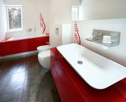 red and white bathroom interior design ideas red and white