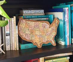 Tos Map How To Make A Diy Corkboard Map With Fiskars