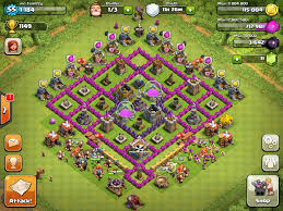 clash of clans image town hall level 8 base farming jpg clash of clans wiki