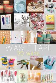 20 washi tape projects u0026 crafts diy inspiration picklee