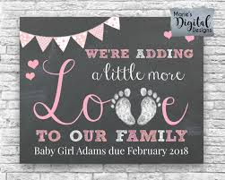 thanksgiving baby announcement ideas printable we u0027re adding a little more love to our family