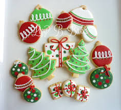 christmas cookies decorated cookie inspiration pinterest