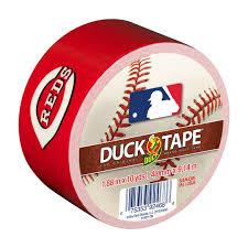 mlb licensed duct tape cincinnati reds duck brand