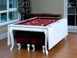 convertible pool dining table extraordinary dining room trends about convertible billiard dining