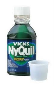 Nyquil Meme - blank stares and blank pages the dreaded nyquil hangover