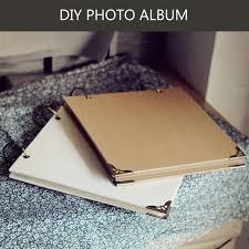 Black Leather Photo Album Aliexpress Com Buy Pp Bags Square Diy Sticky Type Polaroid