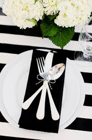 black tie party favors black and white color scheme evite