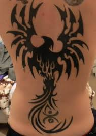 92 good looking eagle tattoos for back