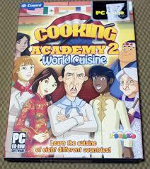 cooking academy 2 world cuisine pc windows vista xp computer game