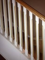 Stair Handrail And Spindles Need Color Idea U0027s For Stairway Rail Spindles And Newel Post