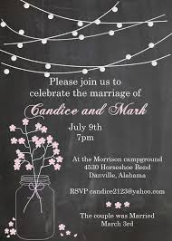 wedding reception invitation wording after ceremony 92 best eloping party invitations invite friends to an informal