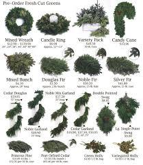 fresh cut greens wreaths door swag wholesale