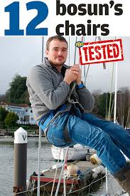 pbo tested 12 bosun u0027s chairs practical boat owner