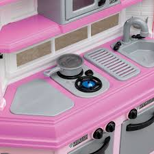Pink Kitchen Accessories by American Plastic Toys Deluxe Custom Kitchen With 22 Accessories