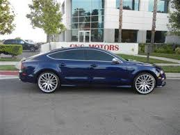 blue audi s7 buy used 2013 audi s7 blue black and olufsen sound