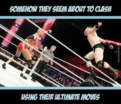 Uppercut Meme - the final clash cesaro s ultimate european uppercut vs sheamus