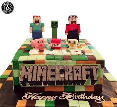 mindcraft cake minecraft birthday cakes bakery dubai uae