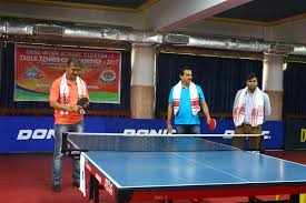 Table Tennis Championship Welcome To Don Bosco Guwahati