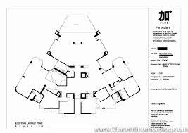 Reflected Floor Plan by Bayshore Park Condominium Renovation Project By Plus Interior