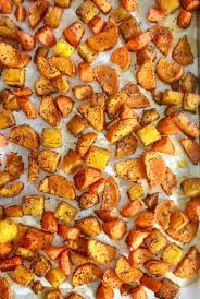 Roast Vegetable Recipe by Cooking With K Ombre Roasted Vegetables