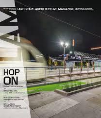 Landscape Architecture Magazine by Orange Line Featured In May Lam Magazine Greenworksgreenworks