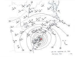 Carroll Community College Map Hurricane Hugo