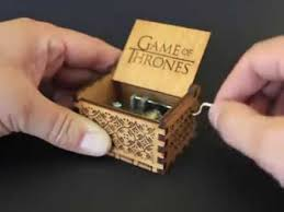 Engraved Music Box Engraved Wooden Music Box Game Of Thrones Youtube