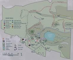 Rock Tunnel Leaf Green Map Clark Reservation