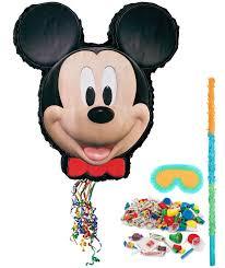 Mickey Mouse Flag Disney Mickey Mouse Pinata Kit Birthdayexpress Com