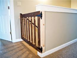 Stair Gates For Banisters Baby Gate For Bottom Of Stairs With Railing Retractable Baby