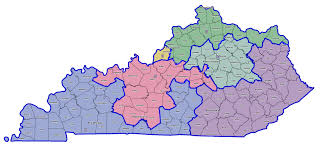 Ohio Congressional District Map by Ky 4th Bluegrass Politics