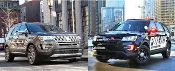 ford explorer vs chevy tahoe interceptor utility vs ford explorer articles