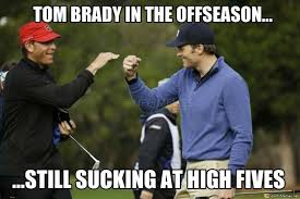 Tom Brady Funny Meme - brady high five meme