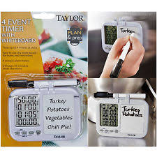 kitchen white board taylor kitchen timer ebay