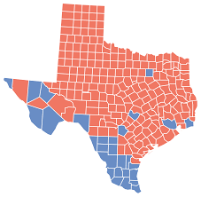 2000 Election Map File Texas Presidential Election Results By County 2008 Svg