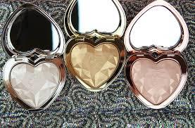 love light prismatic highlighter too faced love light prismatic highlighters review 4 style sprinter