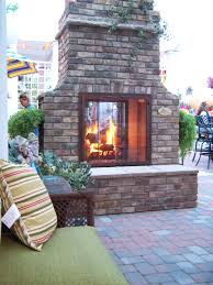 2 sided outdoor fireplace firepits u0026 fireplaces pinterest
