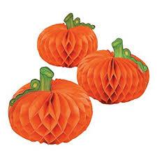 Thanksgiving Pumpkin Decorations Amazon Com Paper Pumpkin Decorations 6 Pcs Halloween
