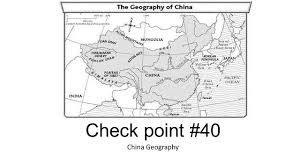 check point 40 china geography 1 what does the huang he mean a