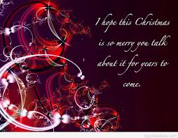 christmas hope quote with image
