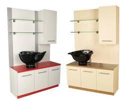 Shampoo Cabinet Usa Made Collins Alta Shampoo Sidewash Cabinet For Hair Salons At